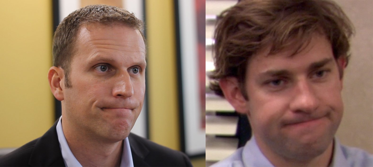matt looks like jim halbert