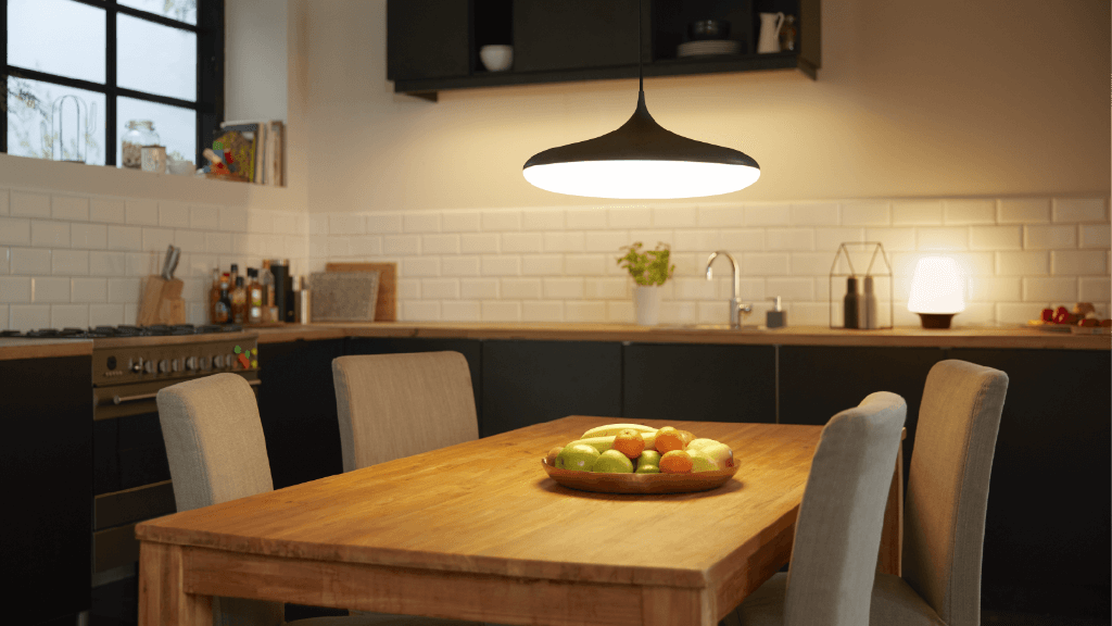 Pendant lights for dining area
