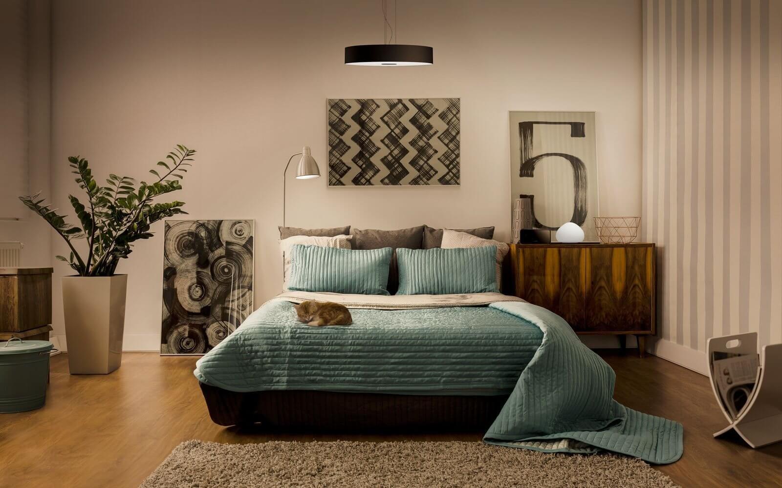 Bedroom lighting ideas meethue philips hue