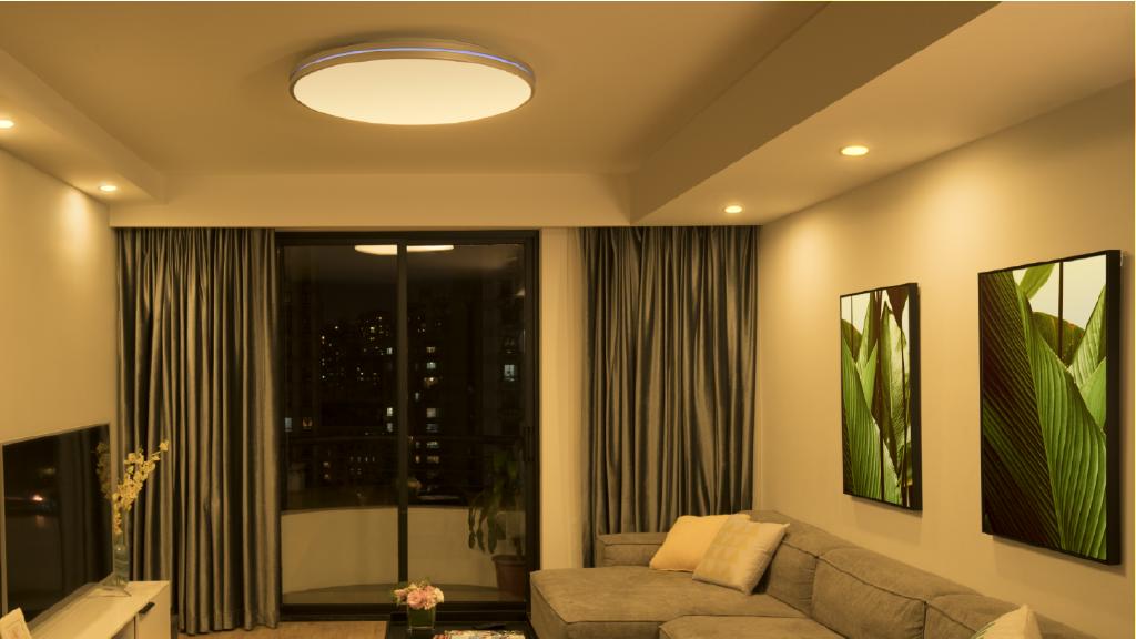Stylish Living Room Lighting Ideas Meethue Philips Hue