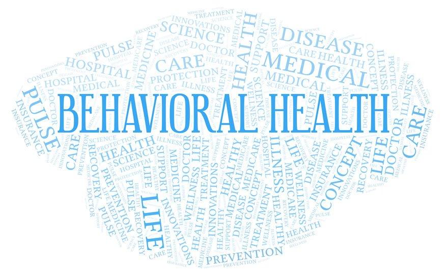 behavioral health word cloud