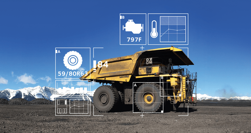 Image result for tek mining truck iot sensors
