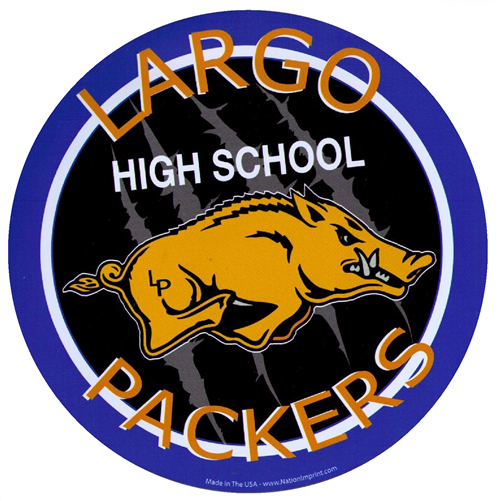 Largo High School Packers were named 27th best high school mascot in Florida by Aceable Drivers Ed