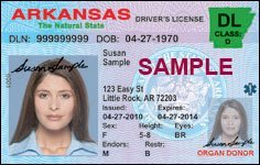 arkansas drivre license