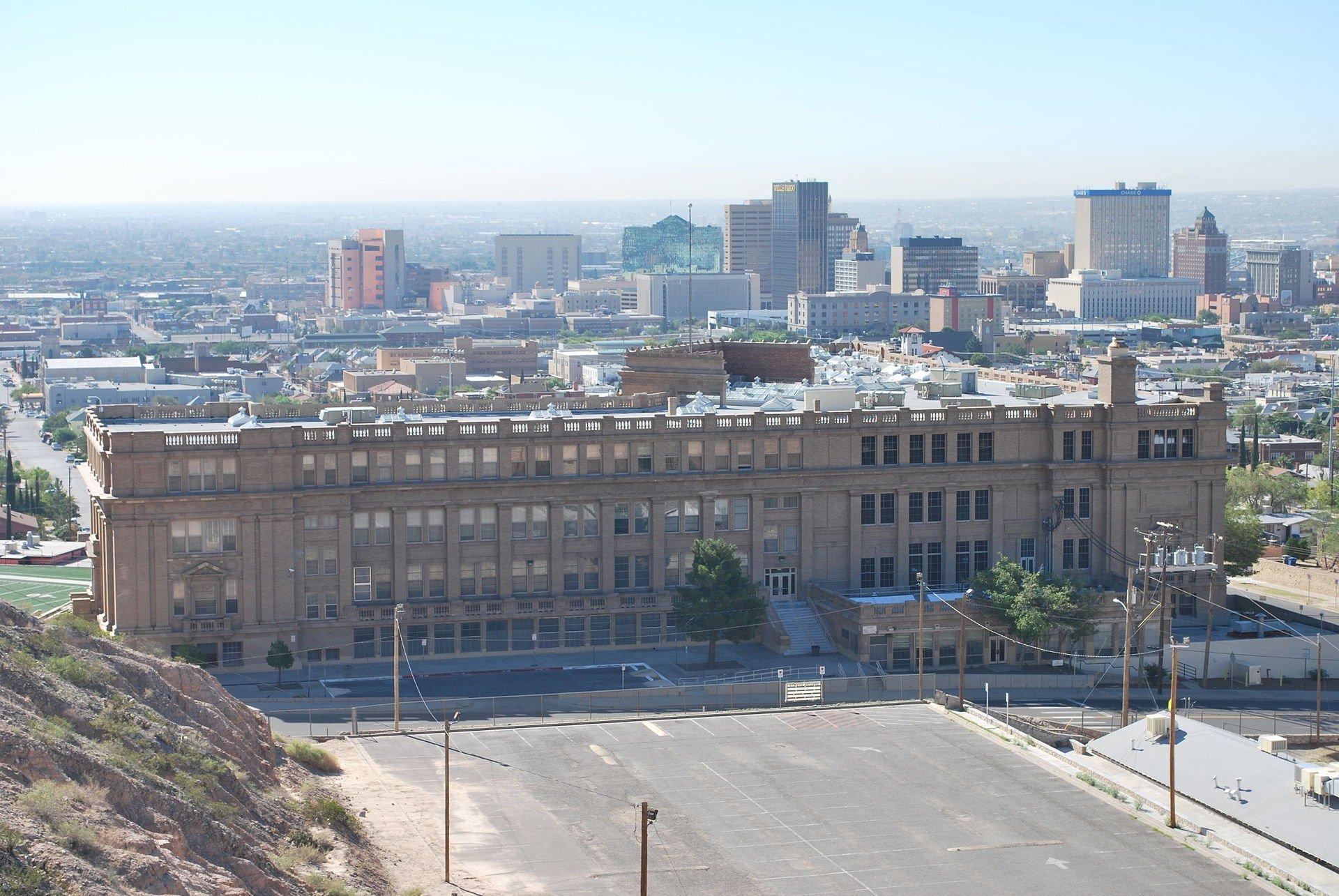 El Paso High School in El Paso, Texas