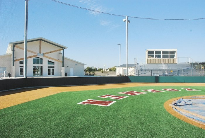 Cameron Yoe High School Baseball Field