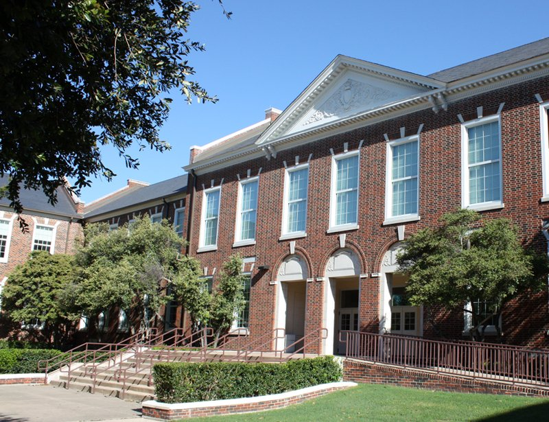Highland Park High School in Dallas, Texas