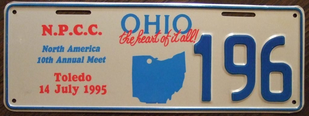 Ohio specialty license plate