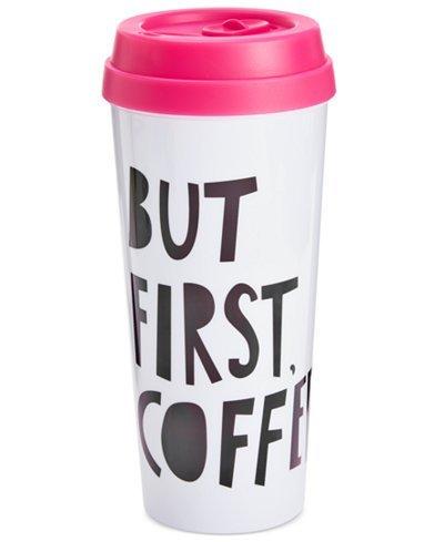 ban.do But First, Coffee Thermal Mug ($14, Macys.com)