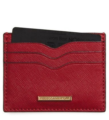 Rebecca Minkoff Everyday Leather Card Case ($45, Nordstrom.com)