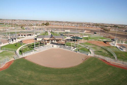 Old Settlers Park Baseball Field