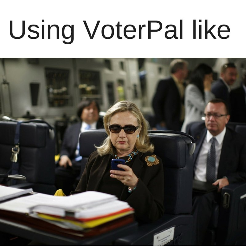 VoterPal lets you register to vote on your phone