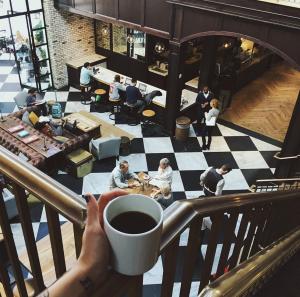 fancy af coffee