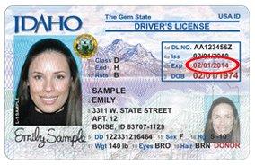 idaho driver license