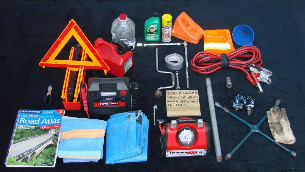 Walt brinker has helped over 2,000 drivers stranded on the roadside. This is an emergency car kit that he recommends teen drivers have.