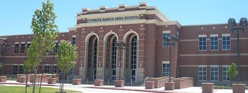 Cypress Ranch High School in Cypress, Texas