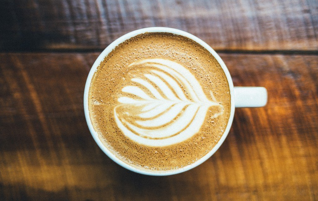 order a coffee at Houndstooth
