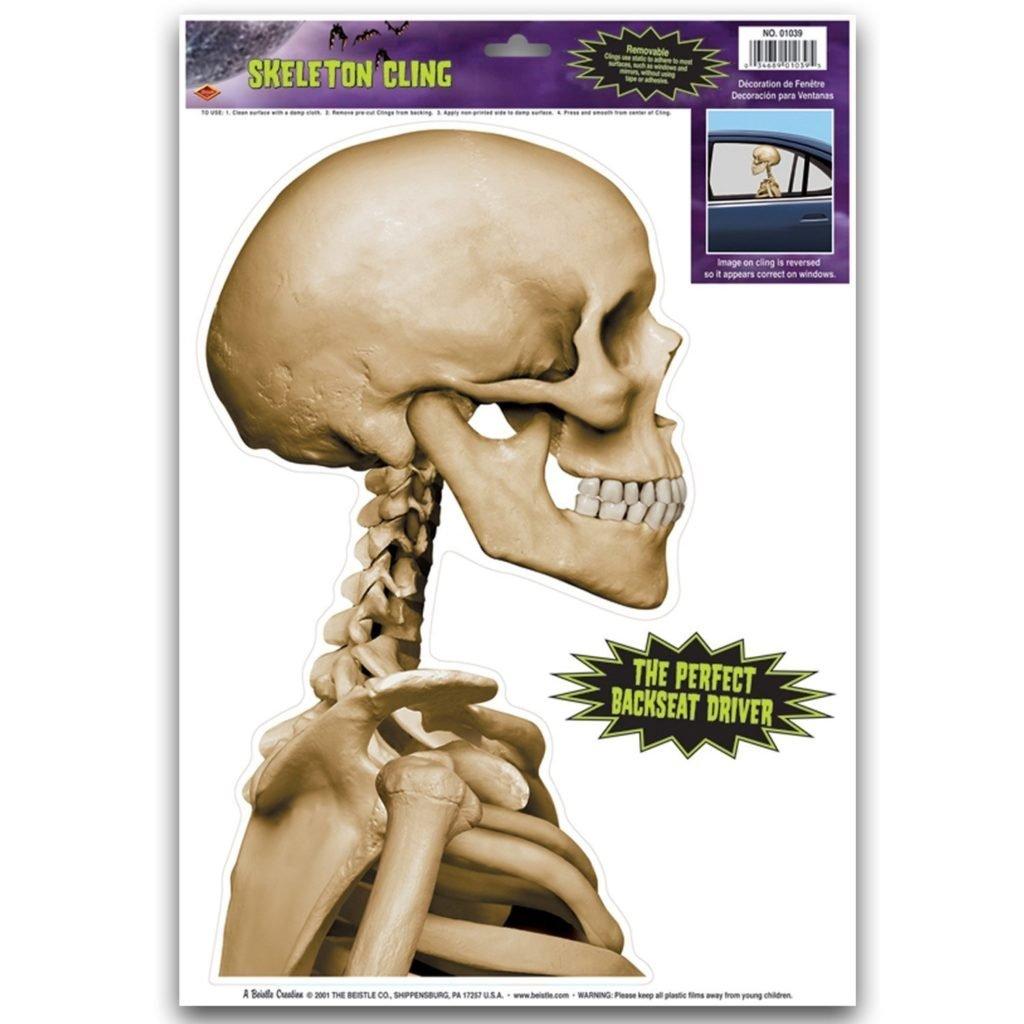 Skeleton Backseat Driver