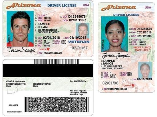 arizona driver license