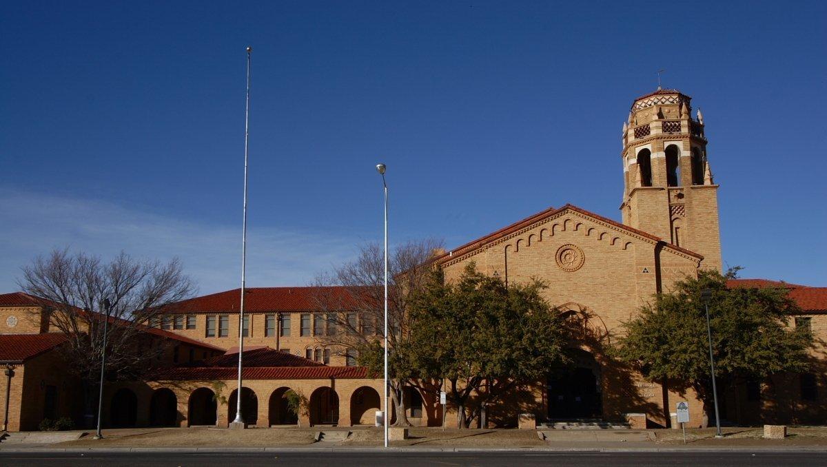Lubbock High School in Lubbock, Texas