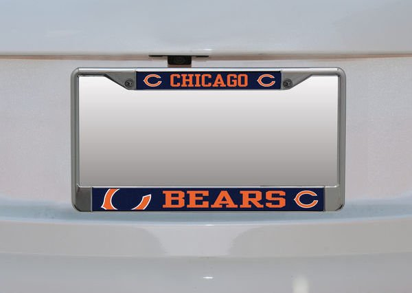 NFL Small Over Large Mega License Plate Frame (Price varies depending on team, Fanatics.com)