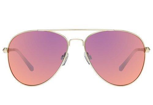 Drop Top Brushed Gold Sunglasses ($79, LeSpecs.com)