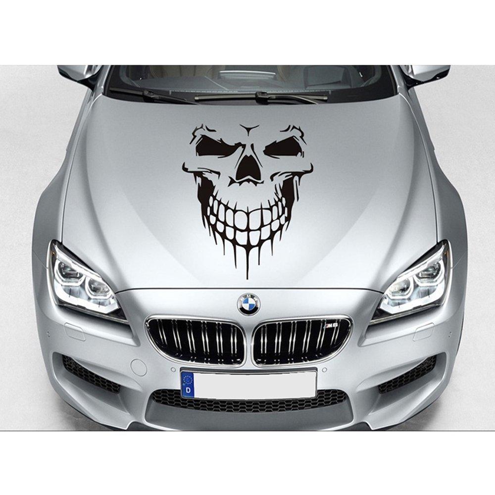 Skull Car Graphic