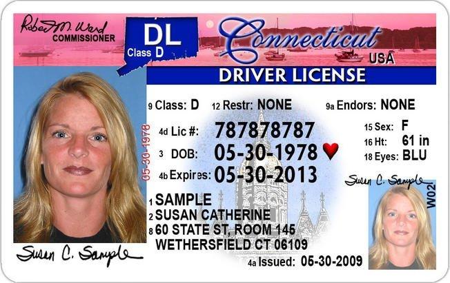 connecticut driver license