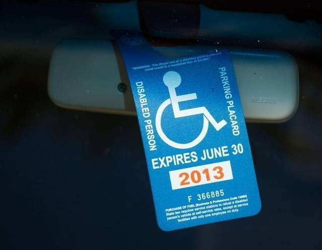How To Get Disability Plates And Placards In California