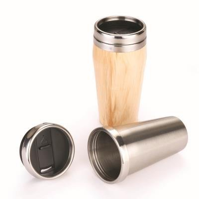 16oz. Stainless Steel Travel Mug Turning Kit with Screw Top Lid ($9.99, Woodcraft.com)