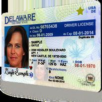delaware driver license