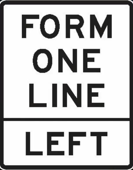 merge into one line on the left