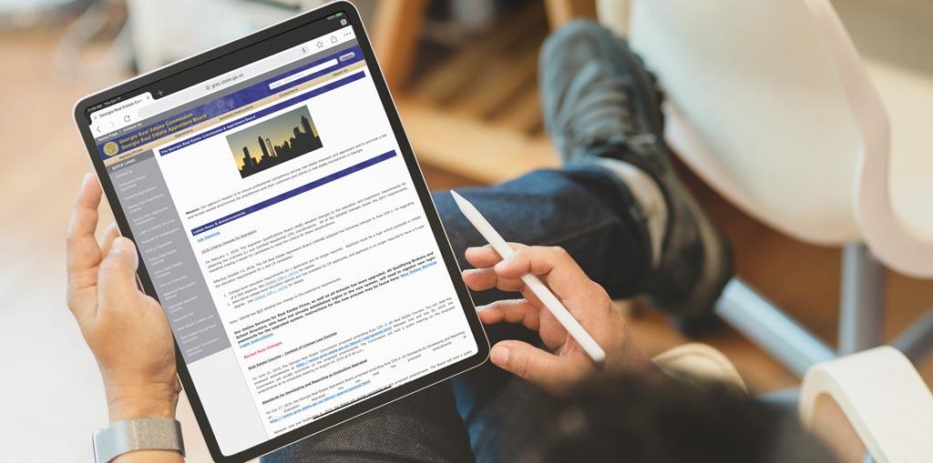 Online Georgia Real Estate Commission