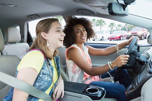 two teenagers driving in new jersey