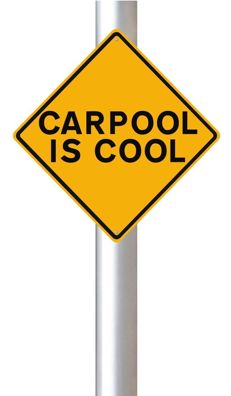 carpooling is cool