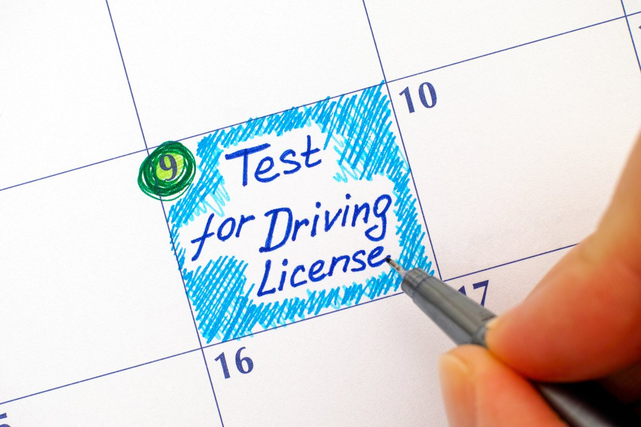 what do you need to take your drivers test in maryland