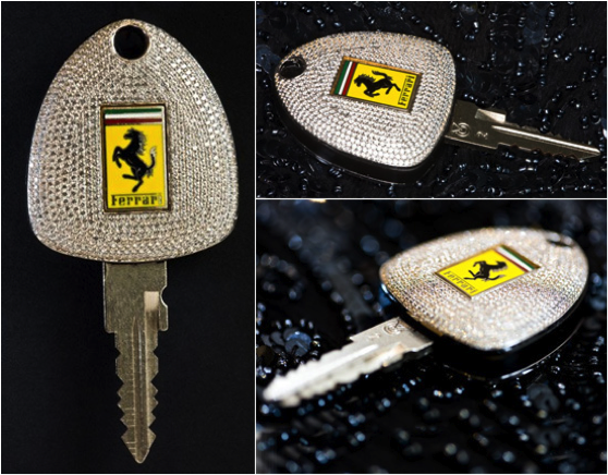 diamond-ferrari-key