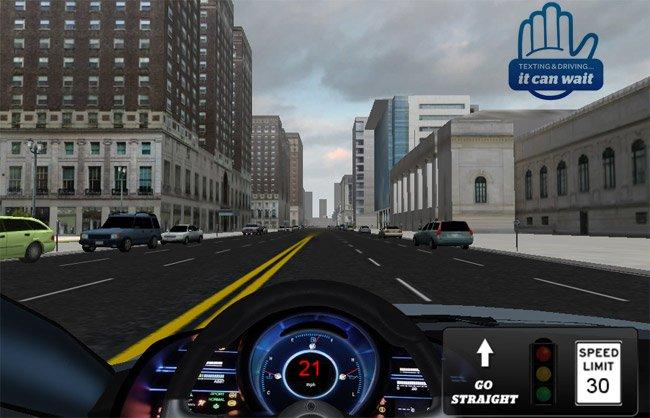 Texting While Driving Simulator: Gaming Safety