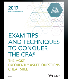 Wiley CFA Exam Review Ebook: How to Pass the CFA Exam