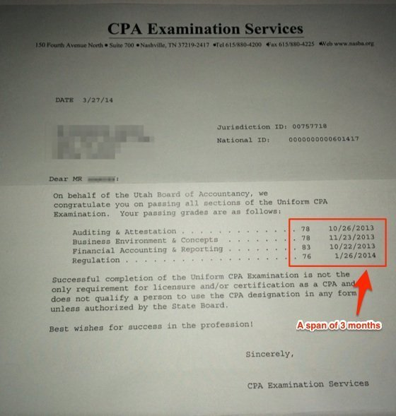 Pass the CPA Exam in 3 Months - Blog