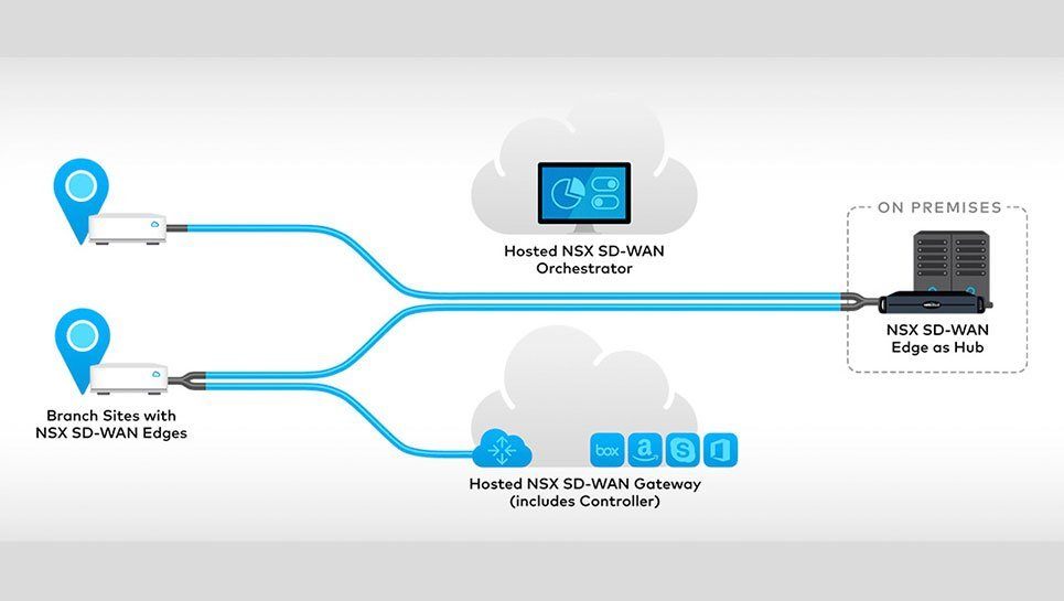 NSX Software-Defined Wide Area Network