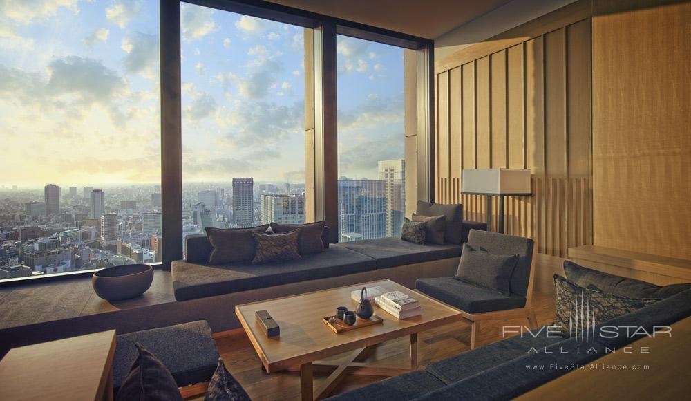 Premium Living Room at Aman Tokyo