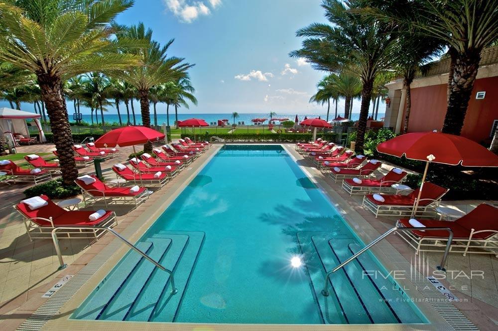 Pool at Acqualina Resort & Spa