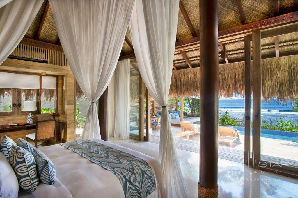 Awake to pool & sea views at Nihi Sumba