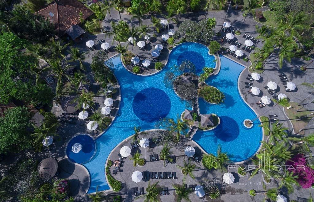 Pool at Melia Bali in Nusa Dua