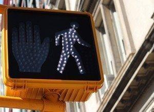 pedestrian cross signal