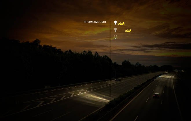 Smart Highways with Interactive Light