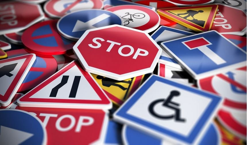 road signs you should know on your driving test