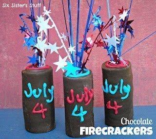 July 4th Firecracker Treats