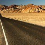 dry desert road